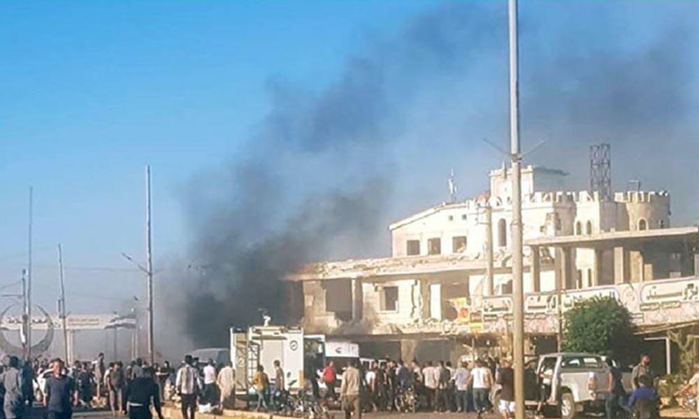 Suriye-Türkiye sınırında bomba yüklü araç patladı! Ölü ve yaralılar var