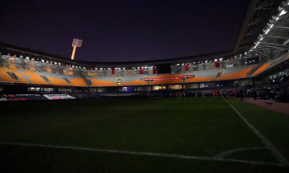 Şampiyonluk maçında stat karanlığa gömüldü! Elektrikler kesildi