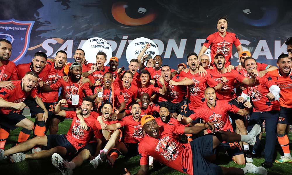 Süper Lig'in şampiyonu Başakşehir