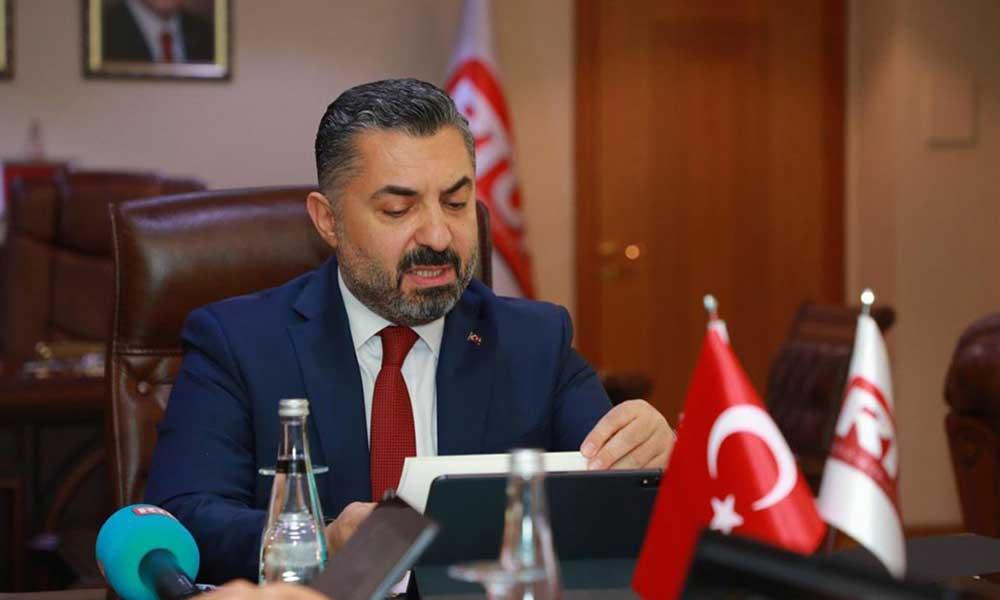 TÜRKSAT'tan istifa eden RTÜK Başkanı Şahin'i üzmediler! Halkbank'a atadılar