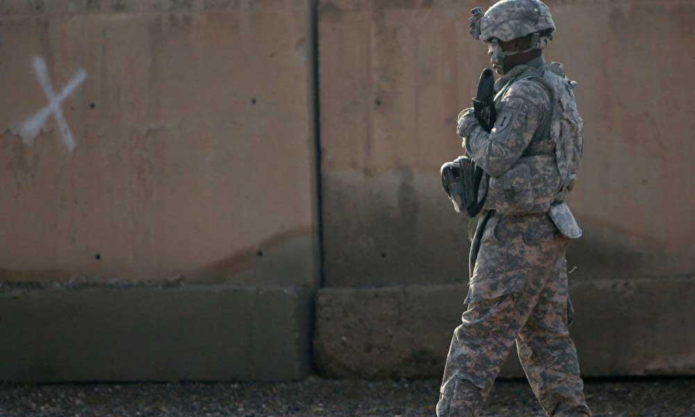 Irak'ta, ABD askerlerinin olduğu bir üsse saldırı düzenlendi