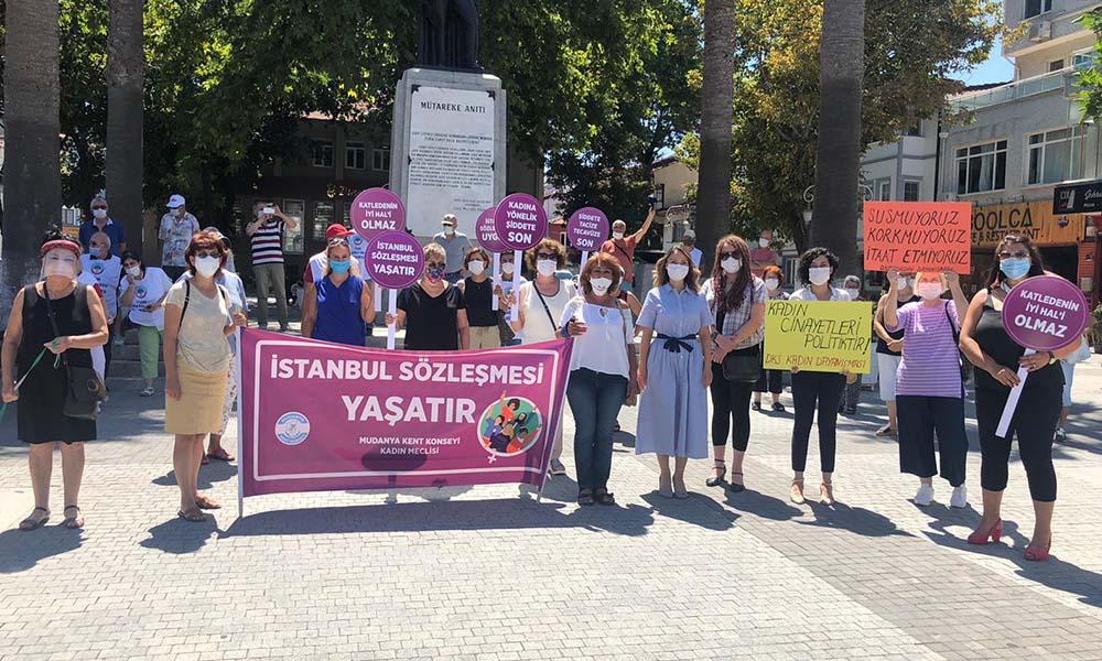 Kadınlar Meclisi'nden 'İstanbul Sözleşmesi'ne destek