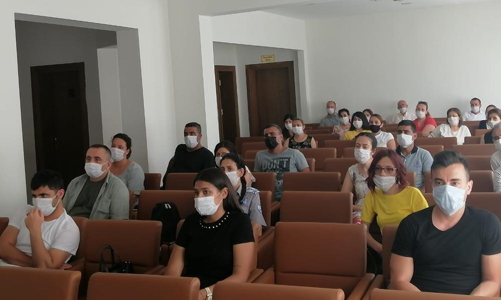 Efeler Belediyesi'nden çalışanlara İş Sağlığı eğitimi