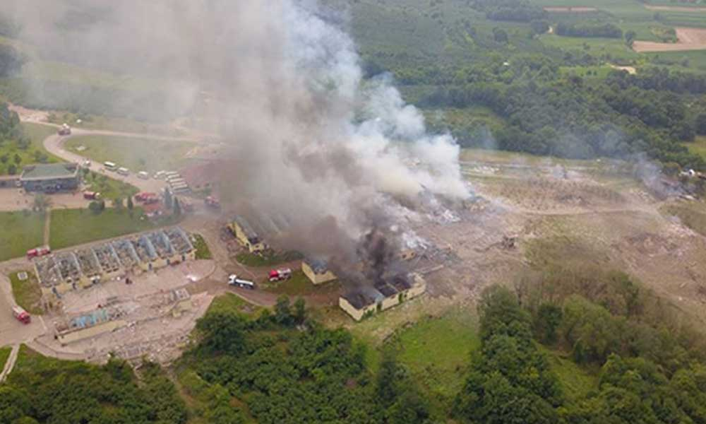 Valilikten açıklama: Havai fişek fabrikasındaki patlamada ölü sayısı 7'ye yükseldi