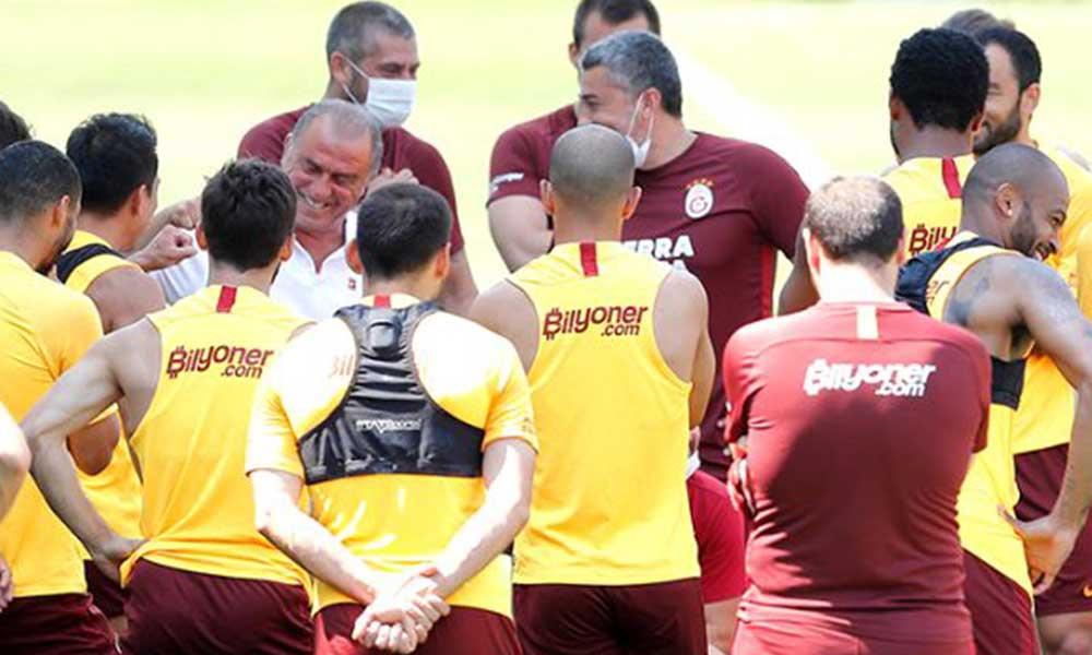 Galatasaray'da hüzünlü veda… Son antremanda göz yaşları sel oldu