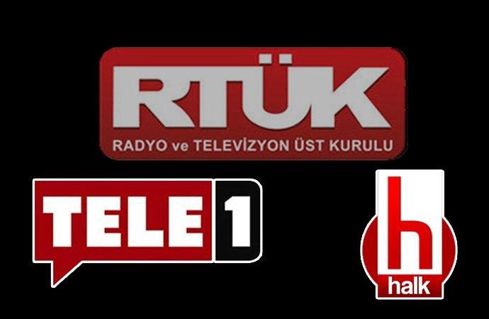 RTÜK'e uluslararası kuruluşlardan Tele1 ve Halk Tv kınaması