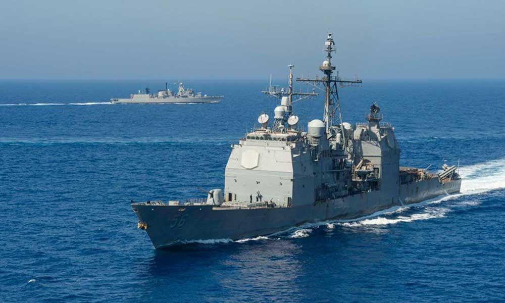 ABD Donanması, Yunanistan ile Akdeniz'de 'birlikte çalışıyor'
