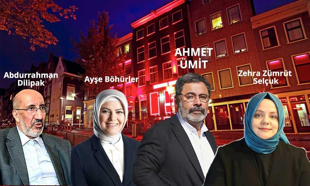 """Ahmet Ümit fahişe tartışmasında """"edep yoksunları"""" diyerek kimleri hedef aldı"""
