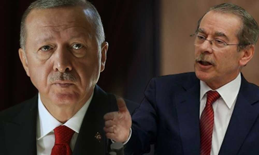 Abdüllatif Şener'den Erdoğan'a uyarı: Aman, dokunma sakın!