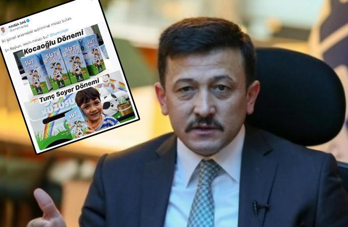 AKP'li vekil süt kutularını hedef aldı!