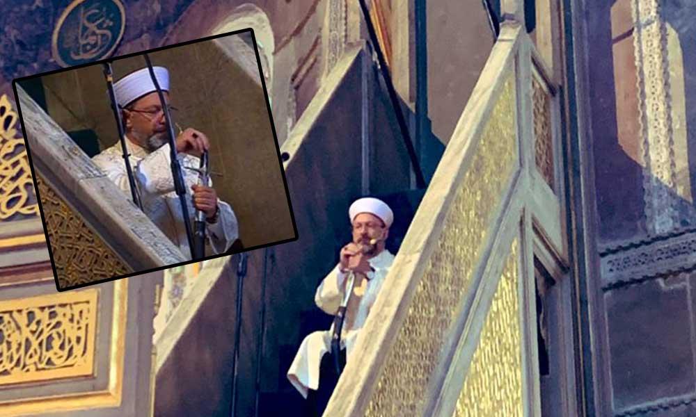 Diyanet İşleri Başkanı Ali Erbaş hakkında suç duyurusu