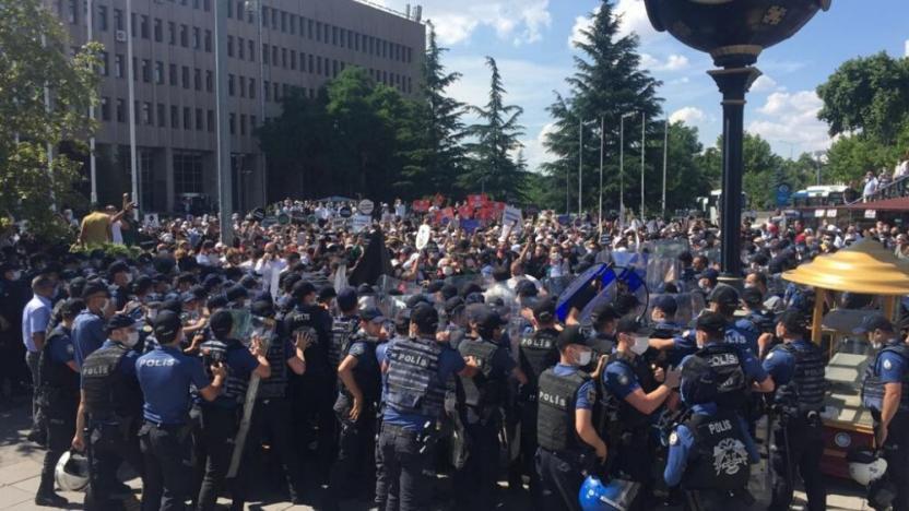 Ankara Emniyeti: Avukatlar hakkında suç duyurusunda bulunulacak!