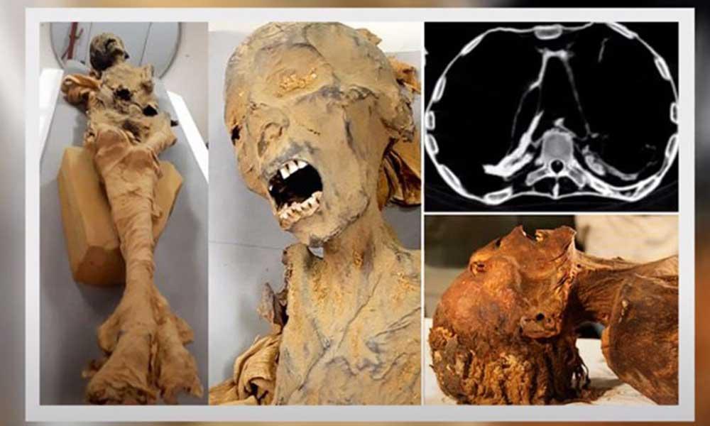 Uzun zamandır gizemini koruyan 'çığlık atan mumya'nın ölüm sebebi belirlendi