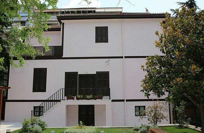 Atatürk Evi'nin bakım çalışması nedeniyle bir süre kapalı olacak