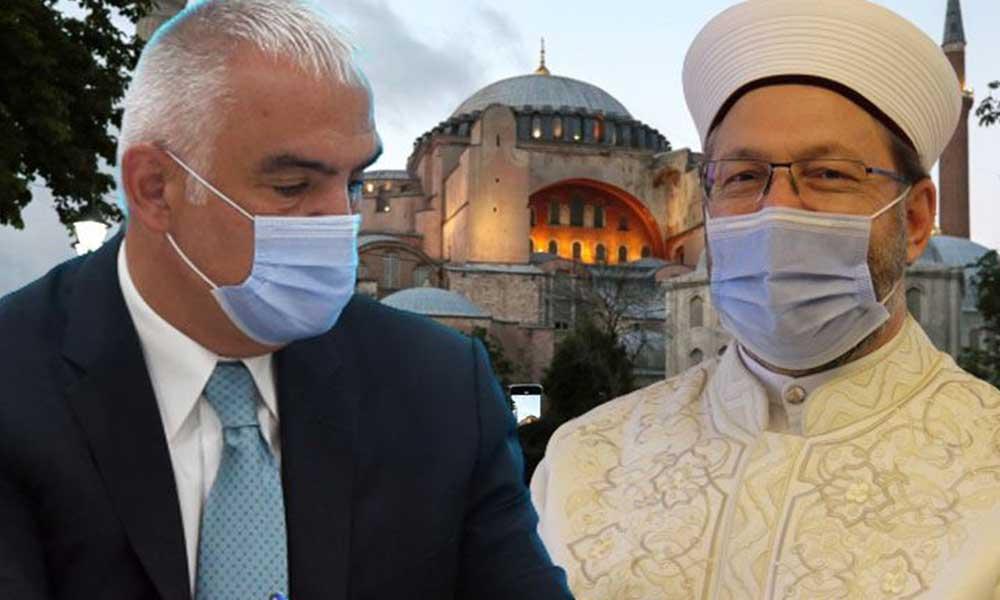 Ersoy ve Erbaş, Ayasofya protokolü imzalayacak