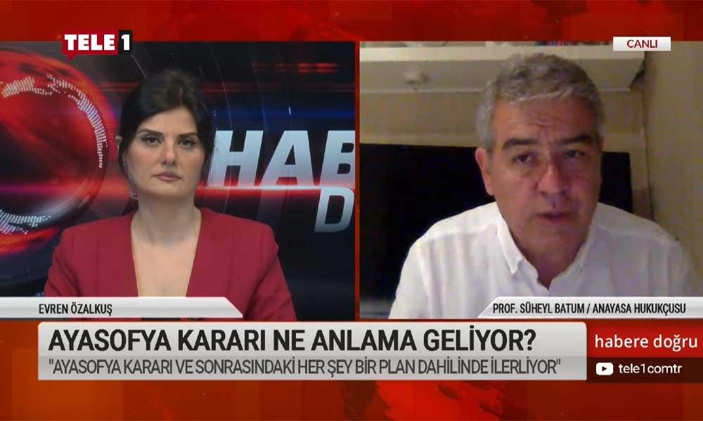 Süheyl Batum: Ali Erbaş devlet memurudur, devlet kurucusuna hakaret edemez