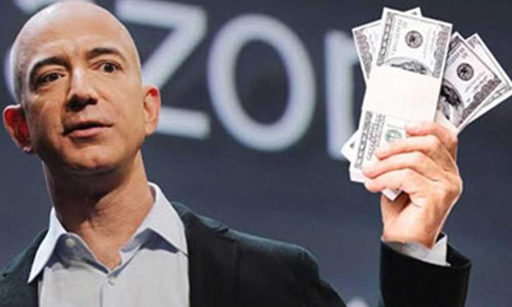 Jeff Bezos bir günde 13 milyar dolar kazandı!