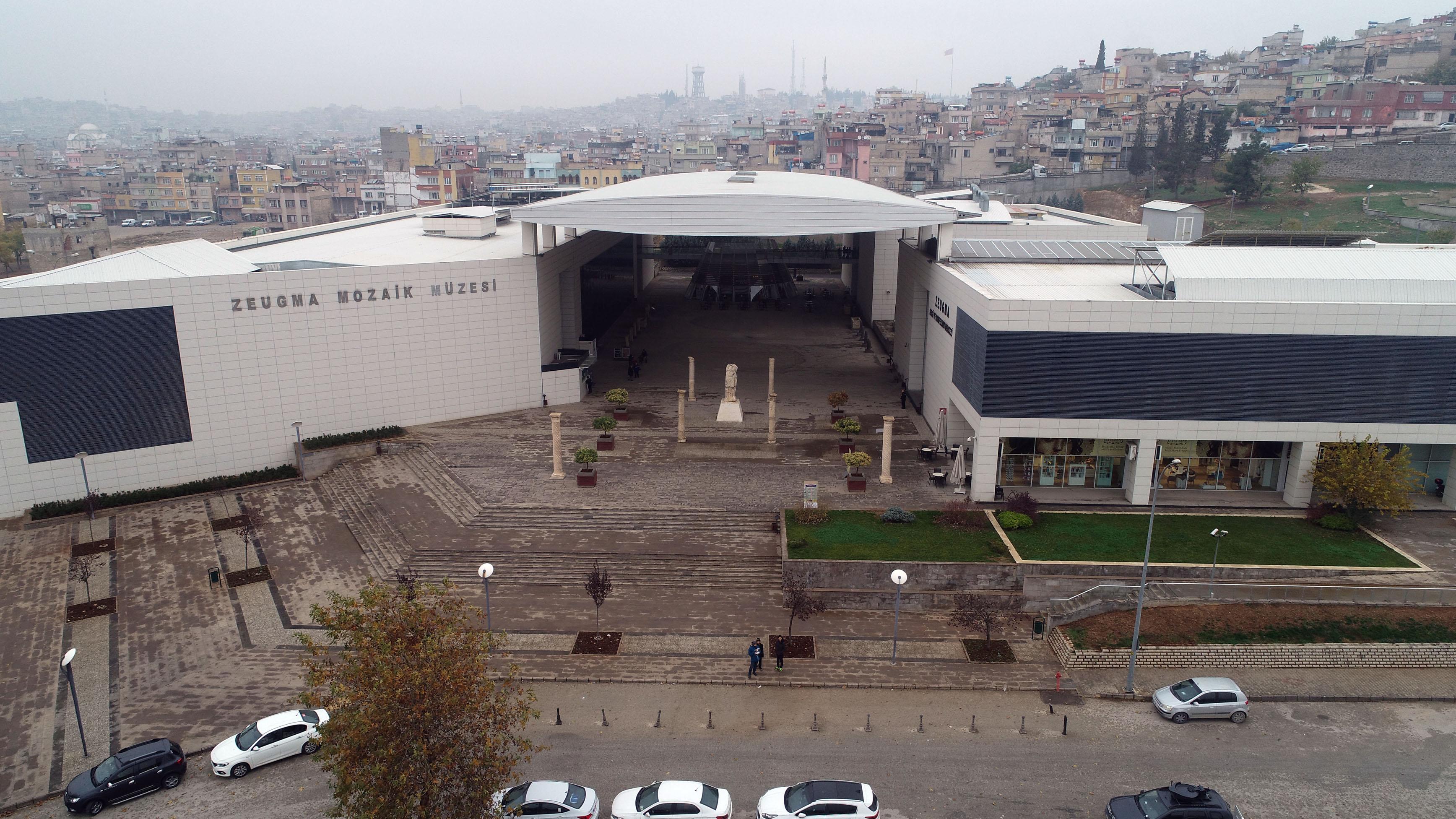 Gaziantep'teki Zeugma Mozaik Müzesi'nde 10 eser kayıp