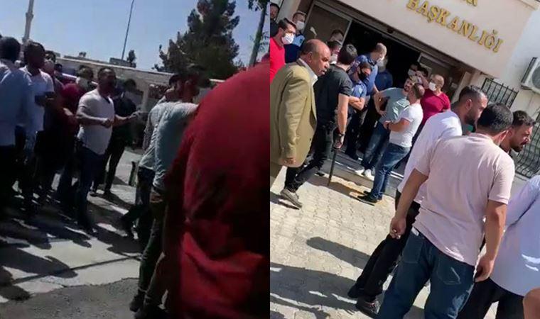 AKP'li belediyede silahlar çekildi!