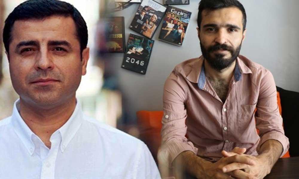 Selahattin Demirtaş'tan Ercan Saldanli paylaşımı: İş bulman için de yardımcı olacağım