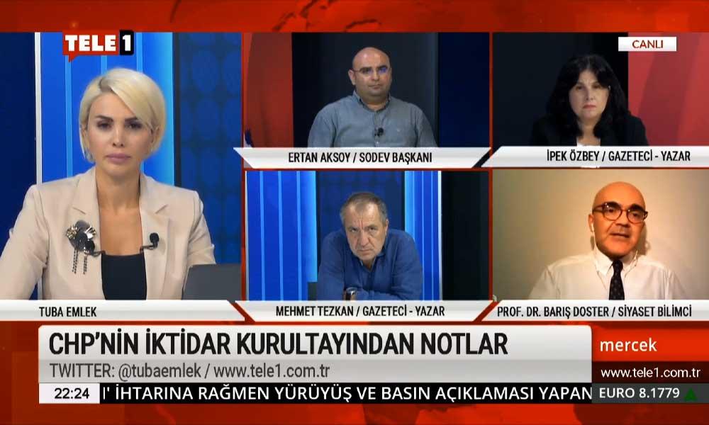 Barış Doster: CHP, Millet İttifakı'nın lokomotifidir