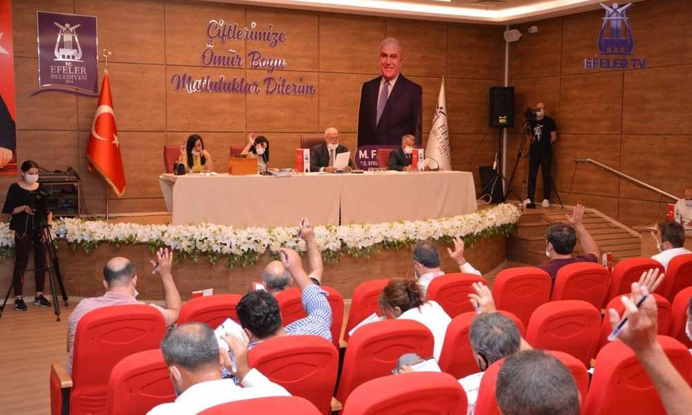 Efeler Meclis toplantısı 50 bin kişiye ulaştı
