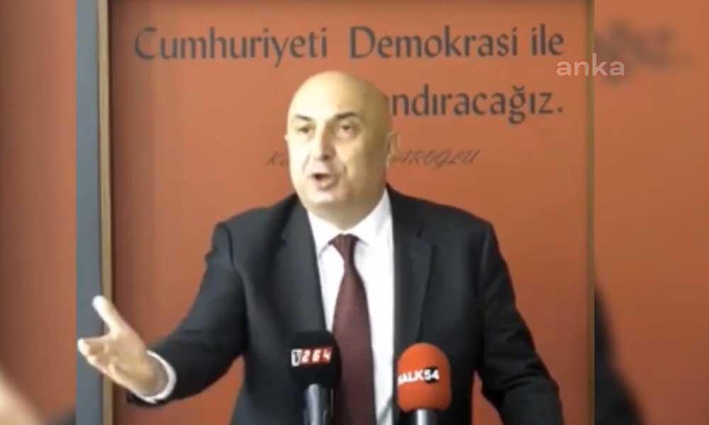 CHP'li Özkoç: Tek kelimeyle söylüyorum, Allah belanızı versin