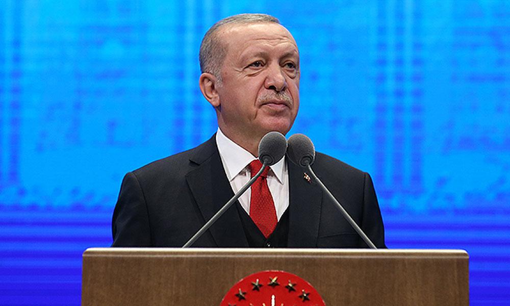 Erdoğan: Geçmişte adalet sarayı diye bir şey yoktu