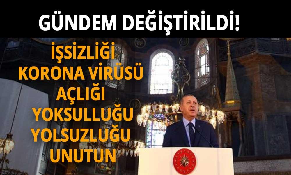 1453'te Fatih'ten sonra ikinci fetih saat 20:53'te Erdoğan'dan