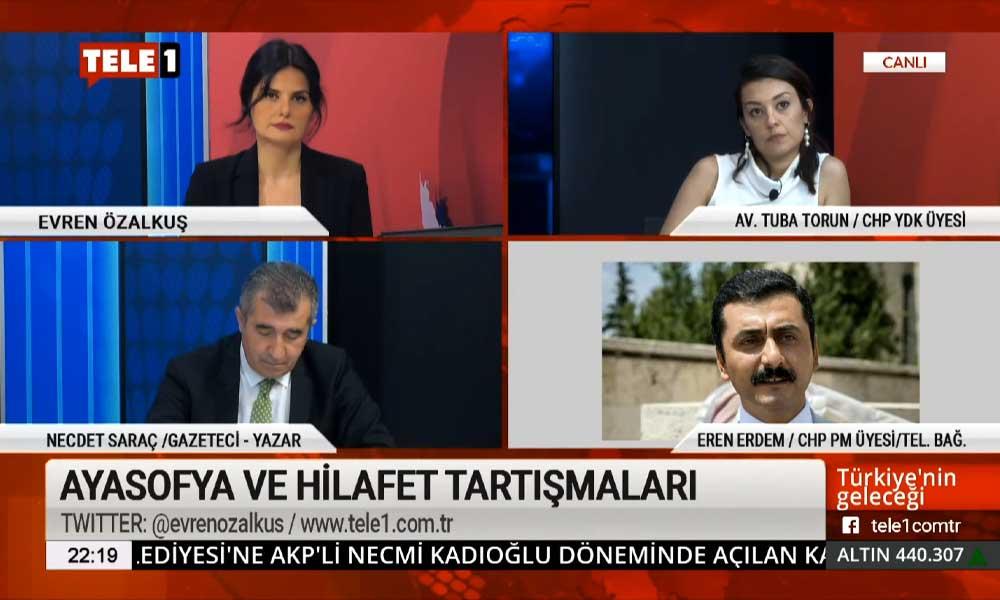 Eren Erdem: Atatürk'e ithamlarda bulunan kişiler vatan hainidir