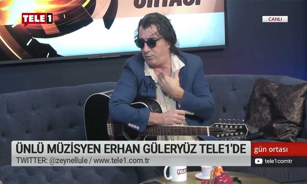 Müzisyen Erhan Güleryüz: TELE1, Halk TV ve KRT'ye yasaklara hayır diyorum!