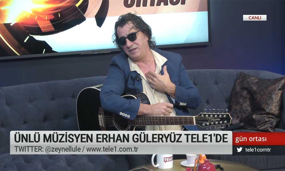 Müzisyen Erhan Güleryüz: Yasaklar hiçbir yere varmaz