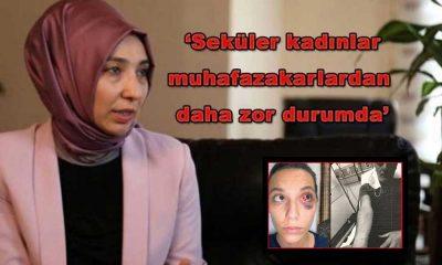 Şiddete maruz kalan kadınları ayrıştırdı: Sizce Seküler camia kimin arkasında durdu Fatmanur Hanım?