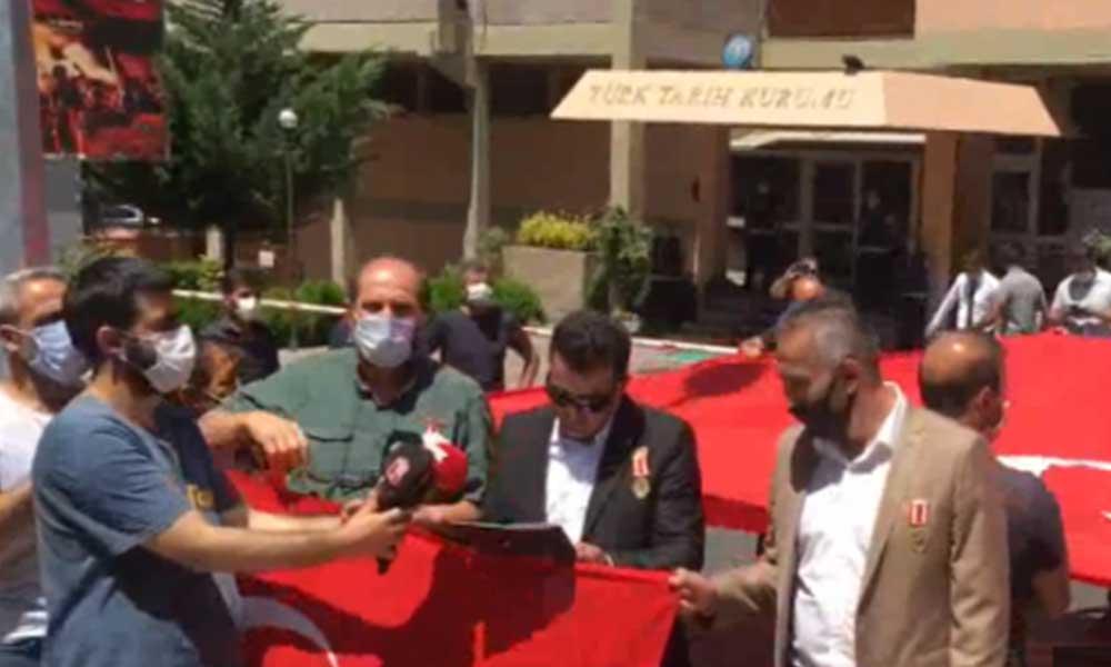 15 Temmuz gazileri TTK önünde: Bu açıklamalarla toplumun nabzı ölçülüyor