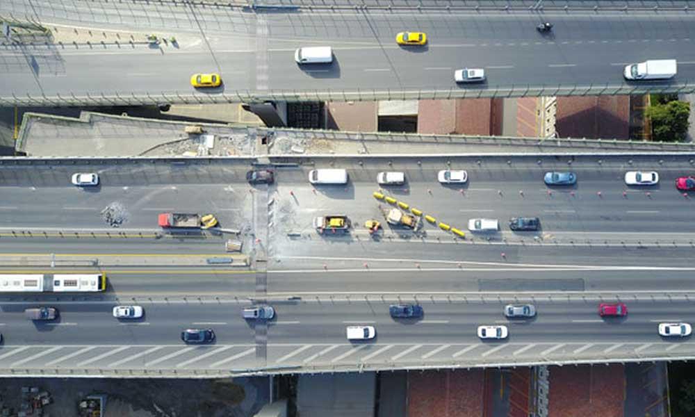 Haliç Köprüsü'nde bir ay sürecek yol çalışması başladı