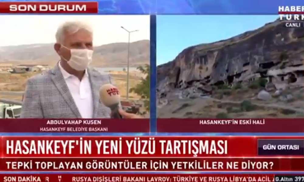 AKP'li Hasankeyf Belediye Başkanı: Yeni hali çirkin ama hayat devam ediyor oturup üzülecek halimiz yok