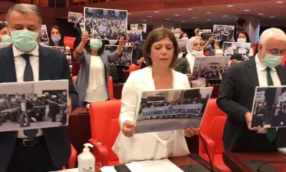 Meclis'te Molière'in sözleri ile protesto: 'Hiçbir hiyerarşik üst tanımıyoruz'