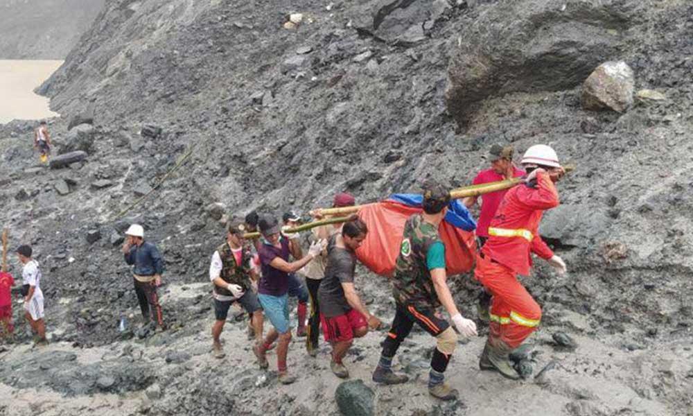 Myanmar'daki heyelanda ölü sayısı 162'ye yükseldi