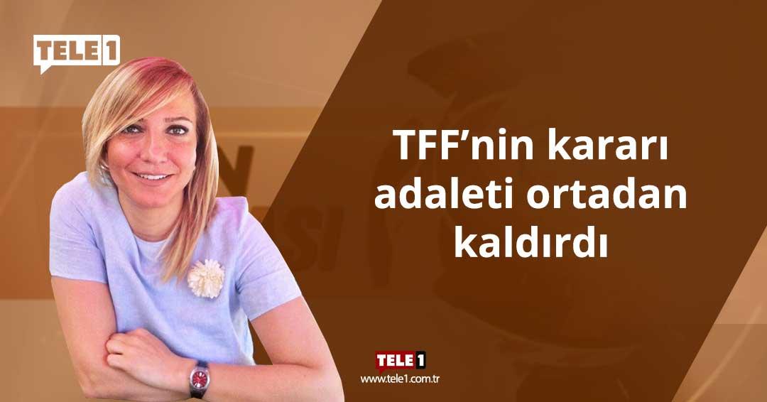 Hülya Coşkun: TFF'nin kararı adaleti ortadan kaldırdı