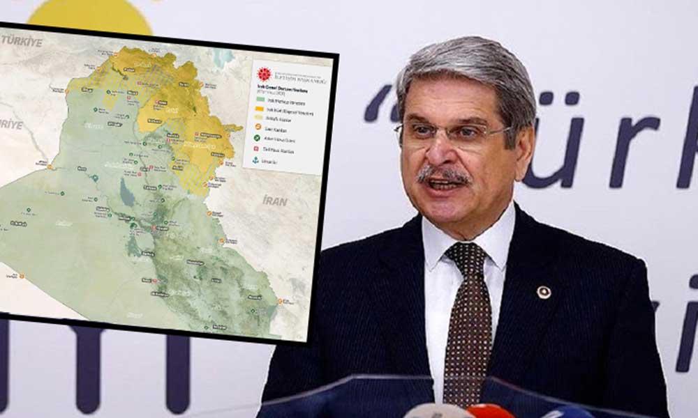 Aytun Çıray'dan İletişim Başkanlığı'na 'bölünmüş harita' tepkisi