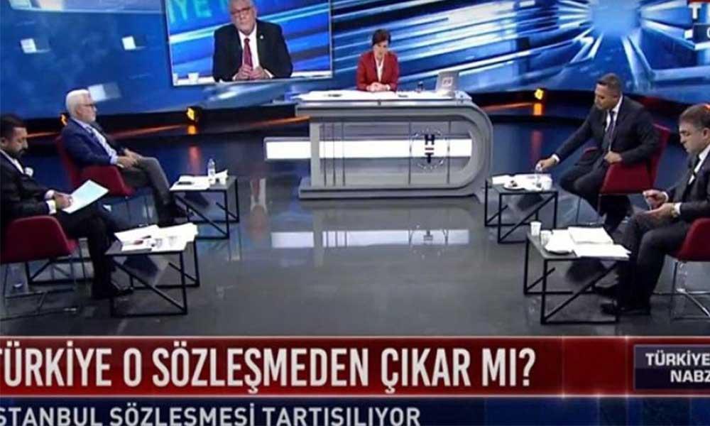 İstanbul Sözleşmesi'ni tartıştılar, bir tane kadın çıkartmadılar