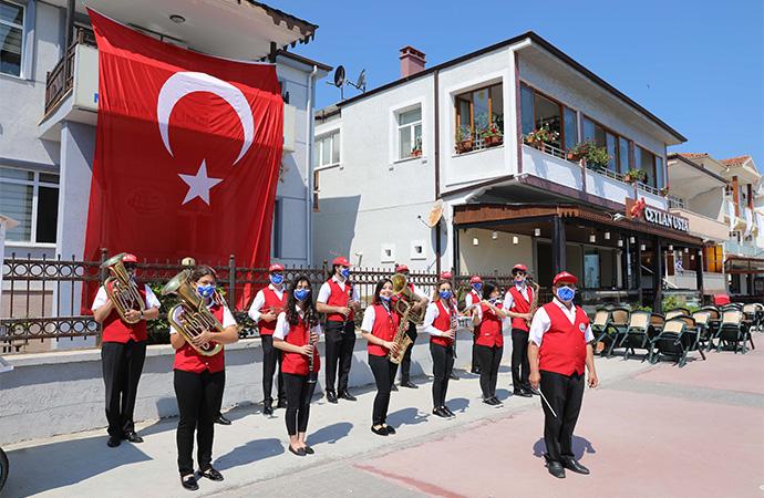 Mudanya 1 Temmuz Kabotaj Bayramı'nı kutladı