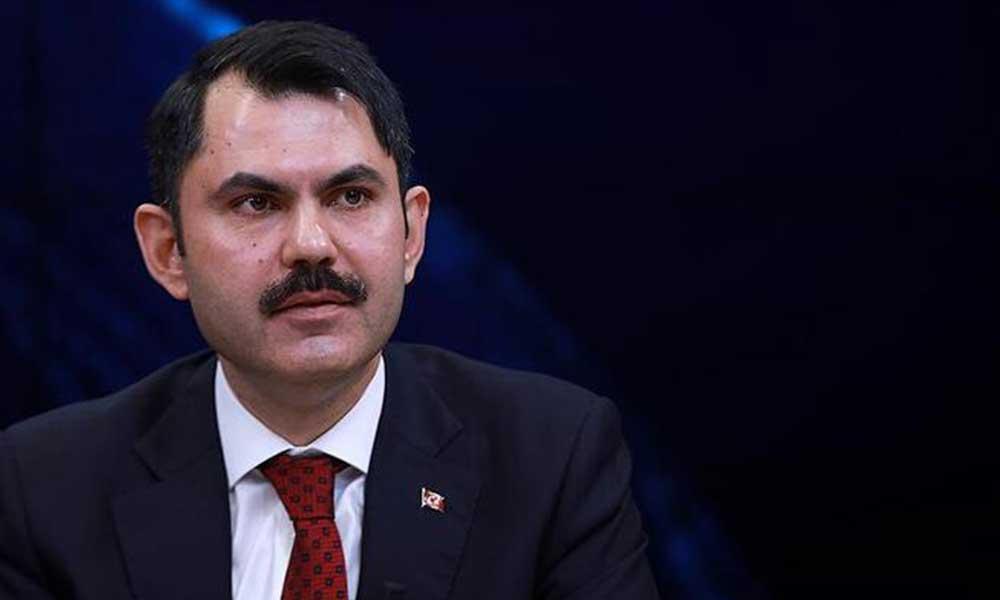 Çevre ve Şehircilik Bakanı Kurum'dan, Kanal İstanbul açıklaması