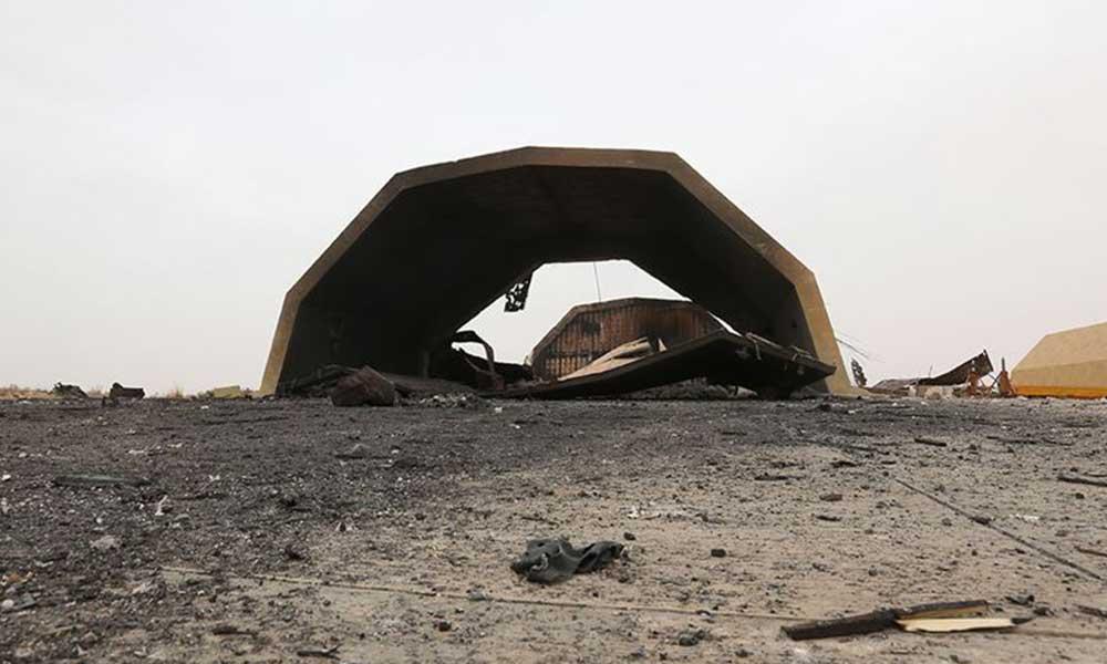 Libya'daki Vatiyye Askeri Hava Üssü'ne saldırı düzenlendi