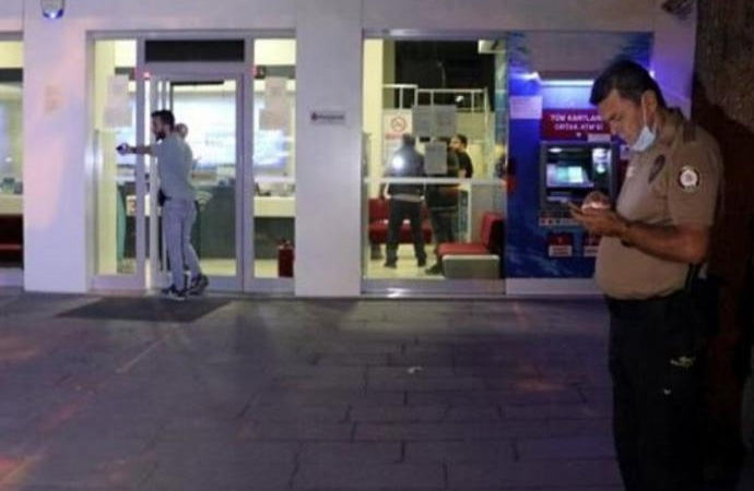 1 haftada 2'nci soygun… Levyeli banka hırsızlığı!