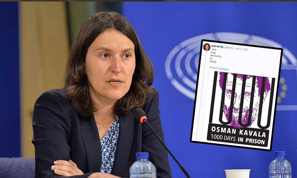 Kati Piri'den Kavala'ya destek mesajı