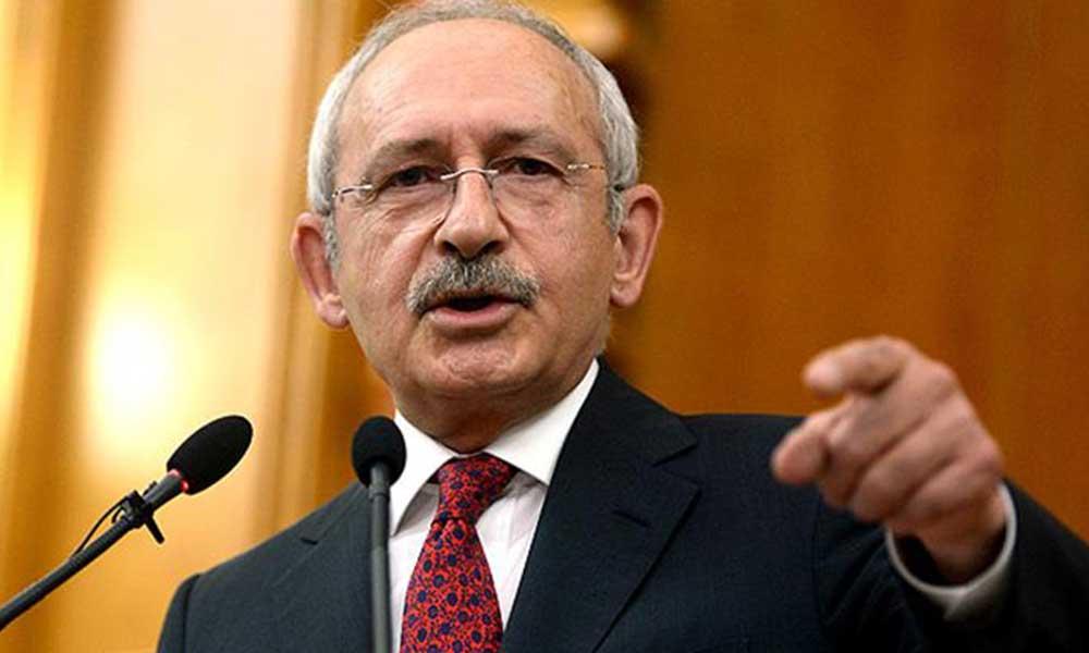 Kılıçdaroğlu'ndan Erdoğan'a: Vatana ihanet ediyorsun