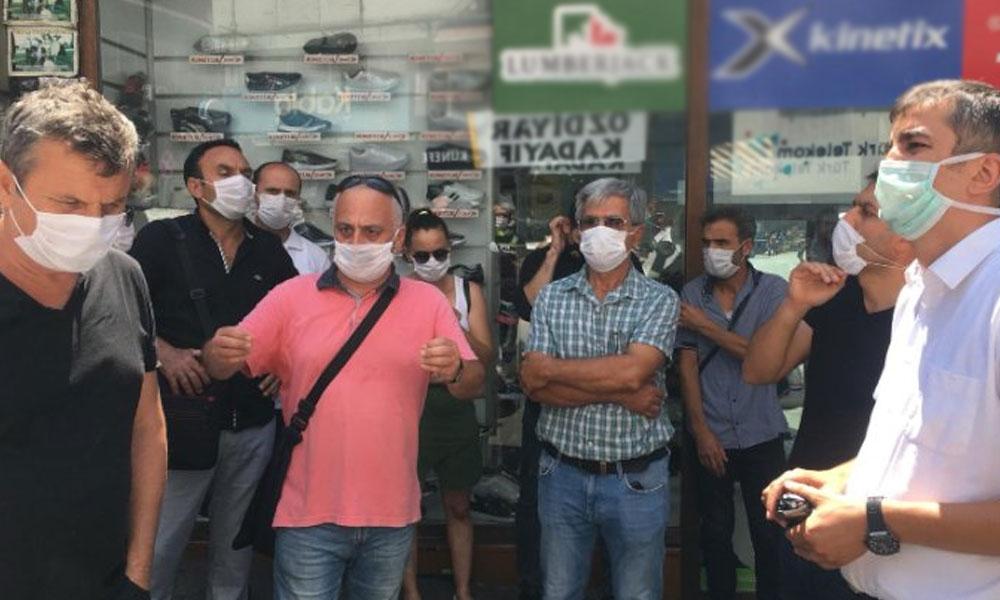 Ayasofya'da unutulan 'sosyal mesafe' eylem zamanı hatırlandı