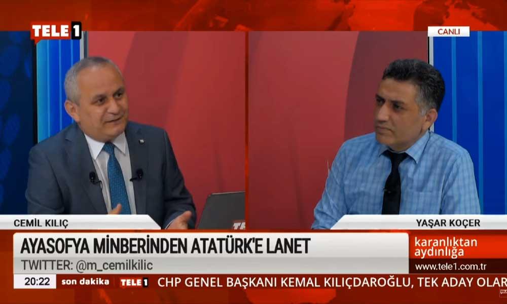 Cemil Kılıç: Süleyman Şah Türbesi'ni koruyamayanlar, Ayasofya üzerinden Mustafa Kemal'e inanılmaz ithamlarda bulunuyor