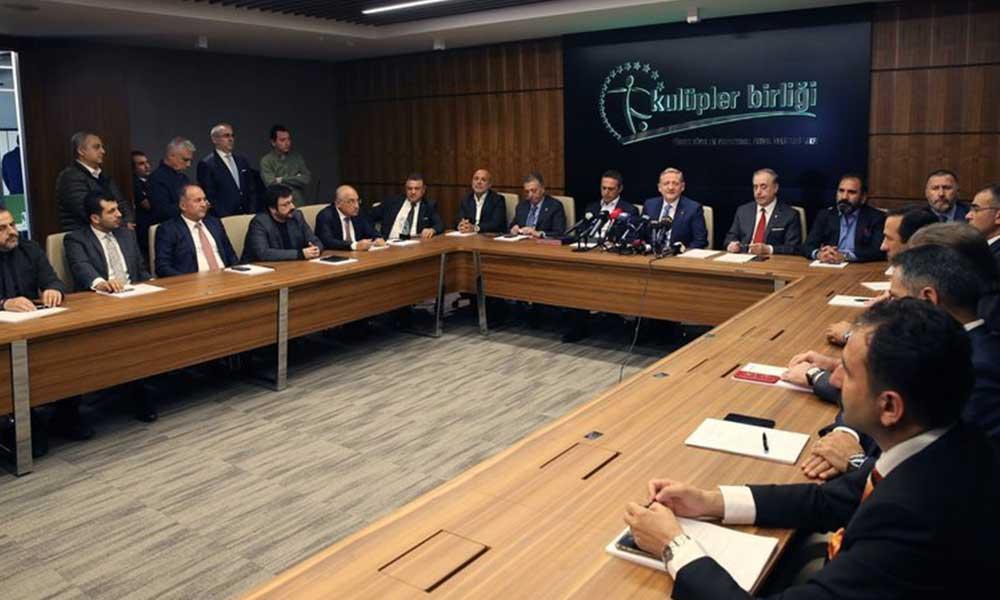 Kulüpler Birliği Toplantısı'nda beklenmedik olay! Ahmet Nur Çebi'ye başkanlık teklif edildi